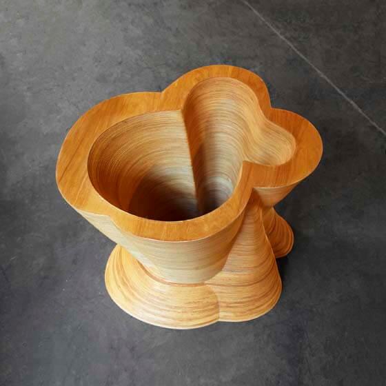 luxury wood end table